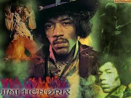 Блюз рок музыкант Jimi Hendrix