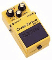Эффект overdrive для электрогитары на блюз рок жанр