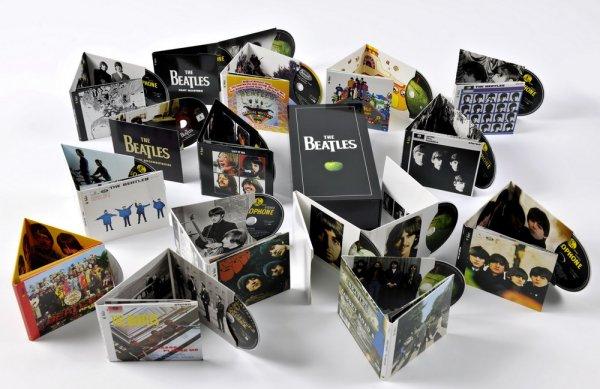 Музыкальный бокс сет The Beatles - Stereo Box Set