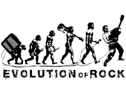 Как проходила эволюция рок музыки на планете