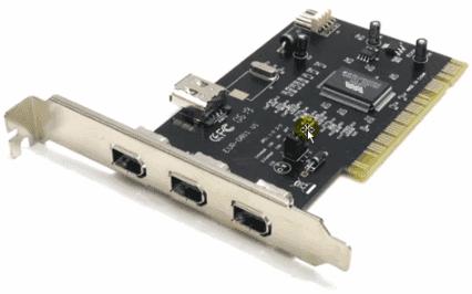 FireWire контроллер для звукозаписи