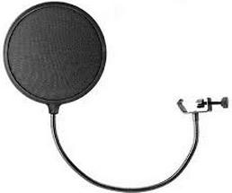 Зачем нужен поп фильтр для микрофона
