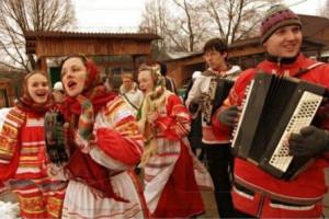 Основные жанры русских народных песен