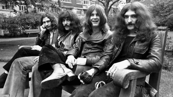 Первая металлическая группа Black Sabbath