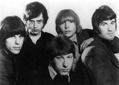 Британская блюз рок группа The Yardbirds