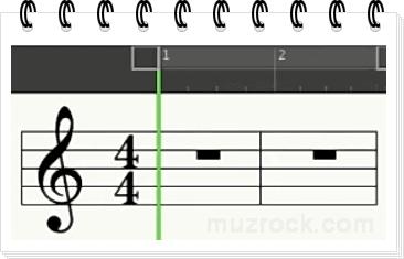 Как выглядит нотный стан в музыке